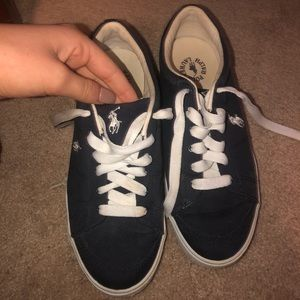 Polo navy blue sneakers